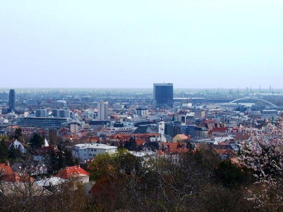 Pohľad na Bratislavu Foto Martha Bielska