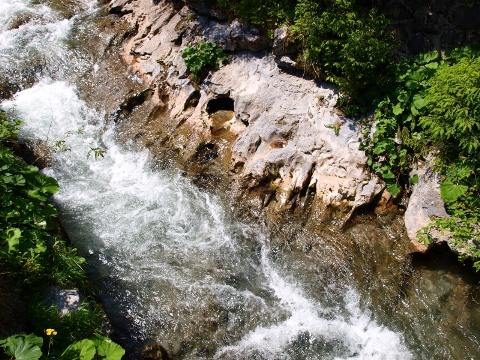 Potok v Demänovskej doline 6