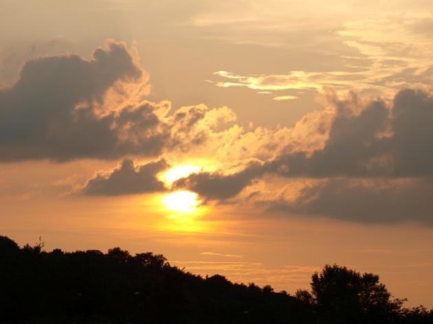 Západ Slnka  Foto: Marcela